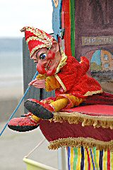 Seaside Punch & Judy workshop for schools
